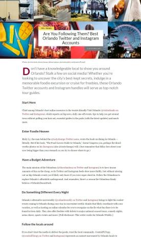 Blog for Marriott Traveler