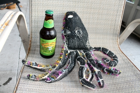 Stuffed octopus | Design by Paige Garren Young