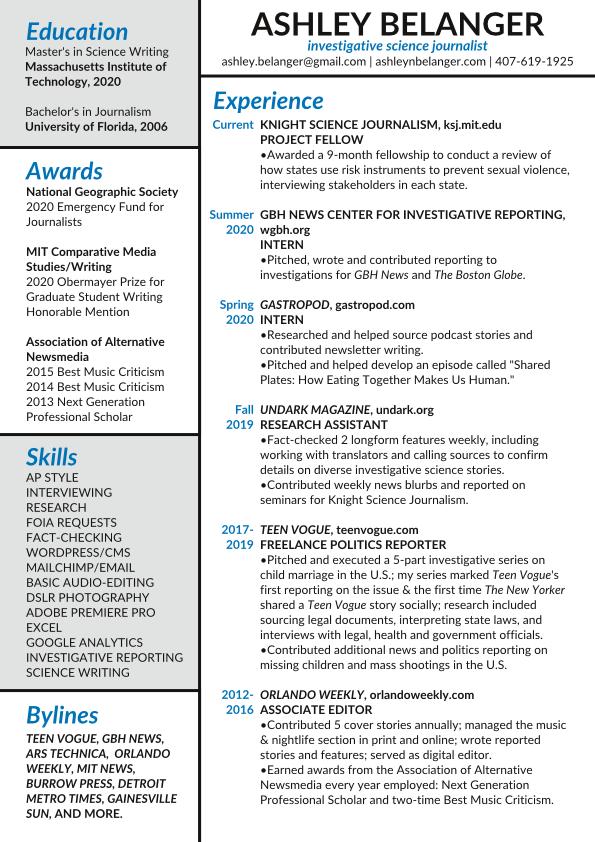 Resume 2021 web
